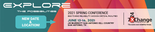 7x24 Exchange International 2021 Spring Conference