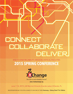7x24 Exchange 2015 Spring Conference Brochure